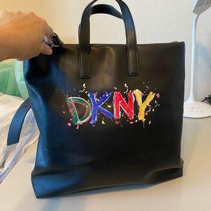 DKNY Graffiti Tote Bag